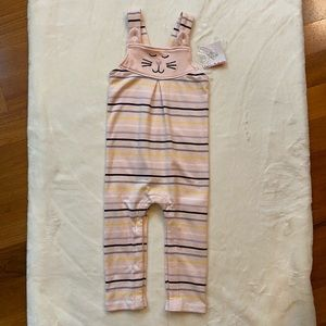NWT Hanna Andersson Kitty Overalls